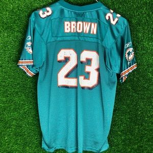 Ronnie Brown #23 Miami Florida Dolphin Jersey NFL